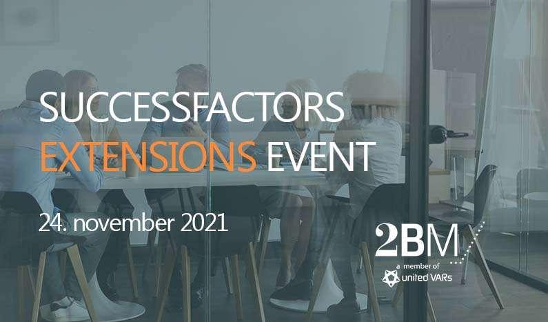 SuccessFactors Extensions Event